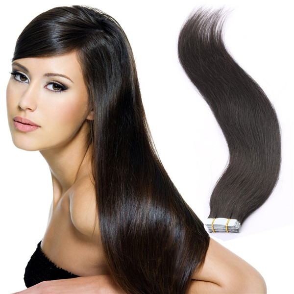 Natural Black 1b Tape Hair Extensions Reviews Yj264 Emeda Hair