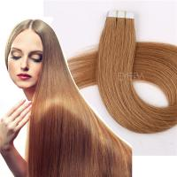 Double drawn tape in extensions European hair market YJ267