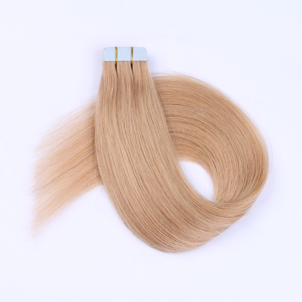 Double Size Tape In Hair Manufacturers Wholesale Price Remy Hair Supplier Extensions   LM394