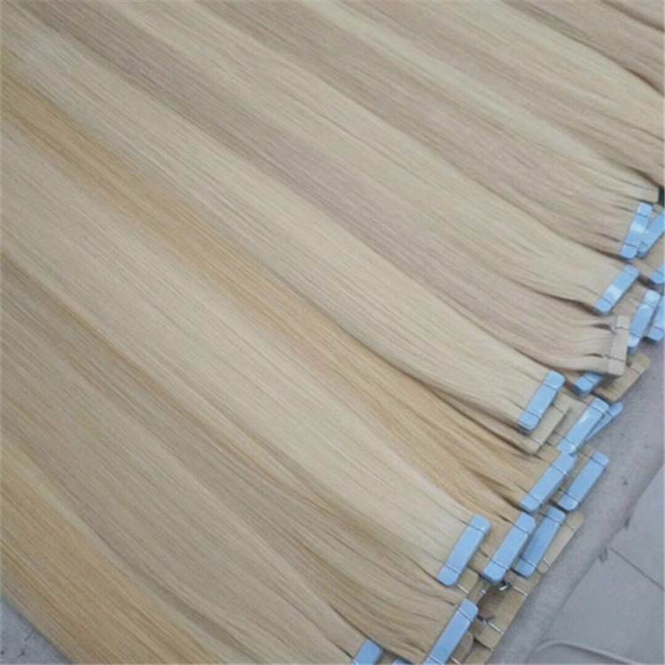 Remy Tape in Hair Extensions Human Hair  Invisible  Silky Straight for women  YL283