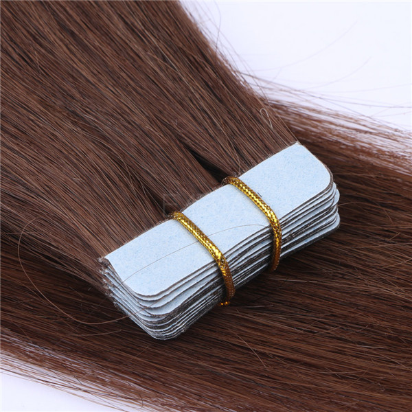 how much is brazilian hair tape in tape on hair and virgin hair YL259