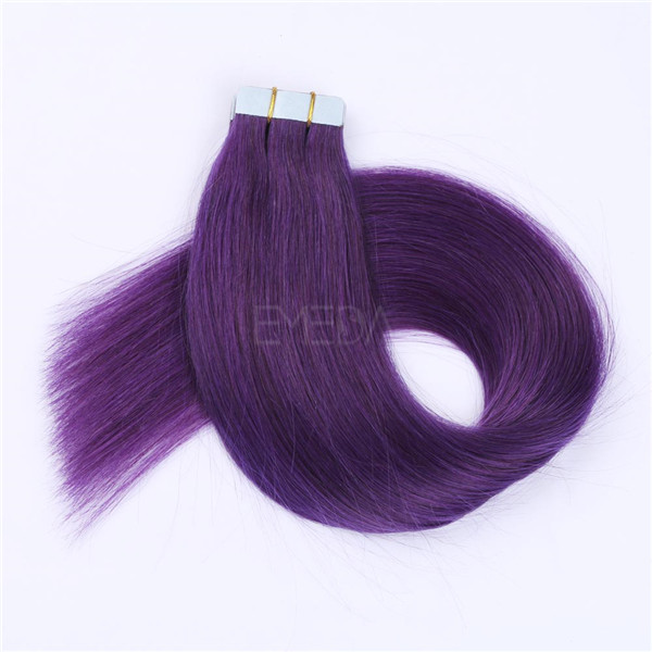 Wholesale 9A  Remy Tape Hair Extensions Double Drawn Tape In Hair Extensions YL229