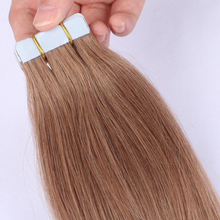 Best virgin cuticle one donor China tape in hair extensions factory YJ317