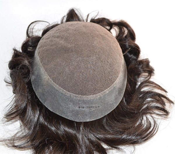 Alibaba Wholesale cheap price human hair toupee natural YL113