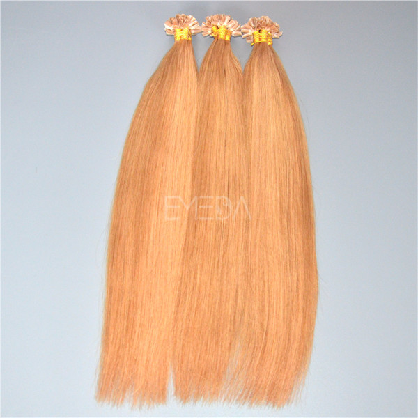 Brailian fine pre bonded hair extensions reviews yj120