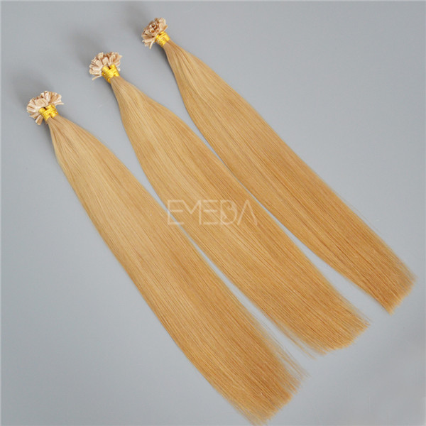 20 inch U tip high quality pre bonded hair extensions YJ139