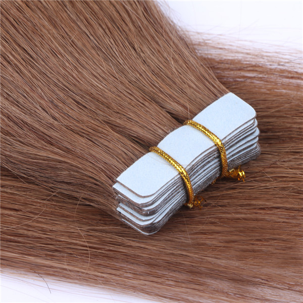 Large stock human hair tape extensions  blonde XS079