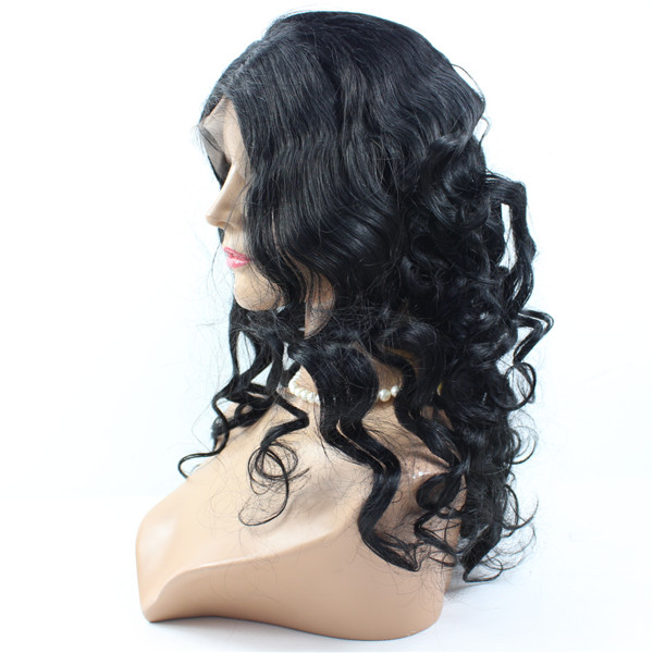 Cheap Human hair lace front wig,human hair Micro braided lace front wigs for black women HN140