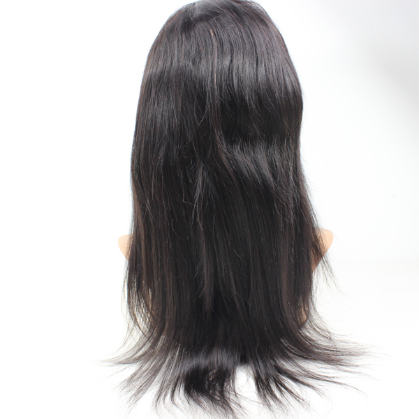 Wig frontal lace wig lace frontal wig virgin hair with elastic net HN130