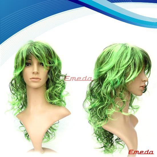 long green cosplay wigs