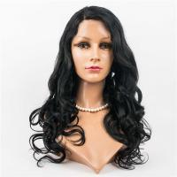 Natural Wavy lace front wig LJ182
