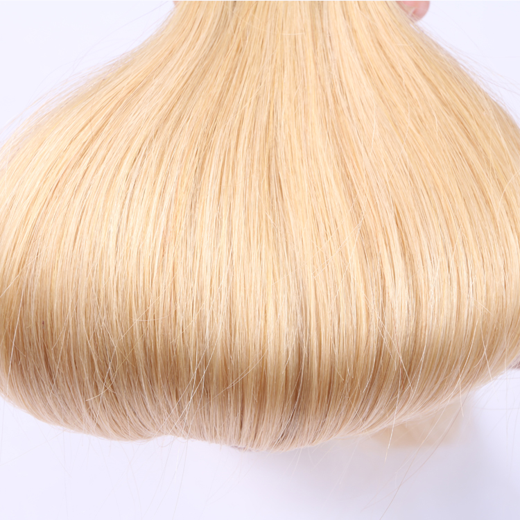 Adhesive glue in tape weft hair extensions SJ00122