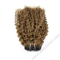 Wholesale human hair cuticle aligned  hair from  brazilian,afro kinky human hair weave bundles,virgin human hair from very yong girl.HN174