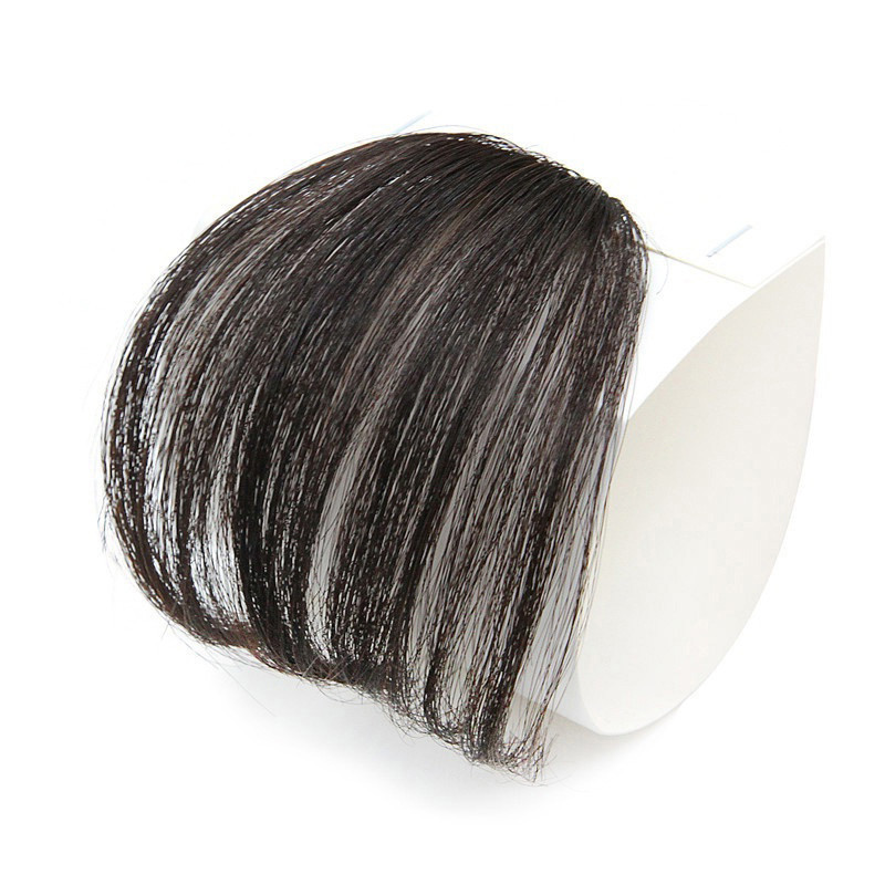 Hair bangs pure bangs hair extension wig natural black light brown dark brown black WK119