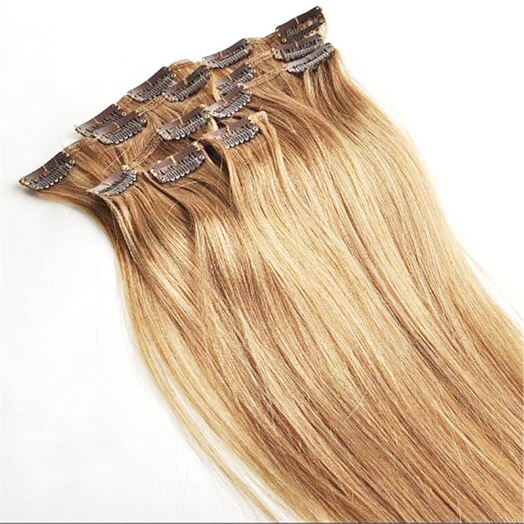 Mongolian Double Drawn Virgin Remy Quality Best Clip In