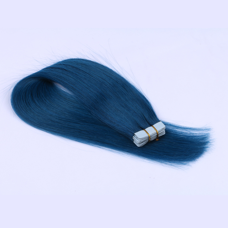 Tape in weave brands hair remy extensions SJ00193