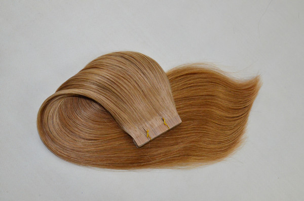 18inch virgin brazilian blond hair XS028
