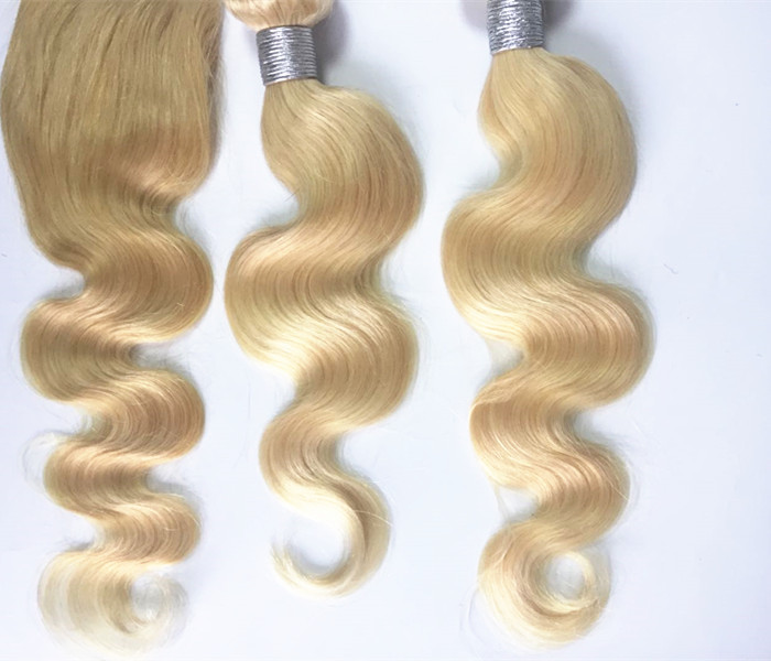 Blonde hair bundles light colors 613 bundles  in stock YL368