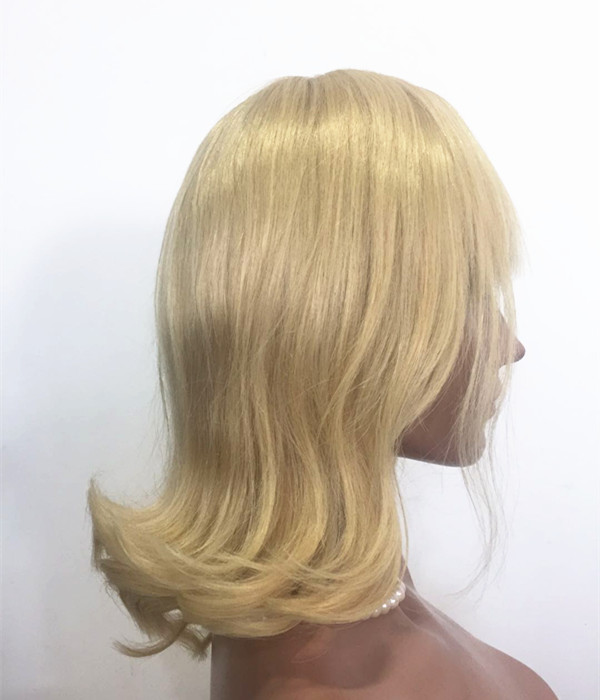 Lace Front Wig Wholesale price dark Blonde color w...</>