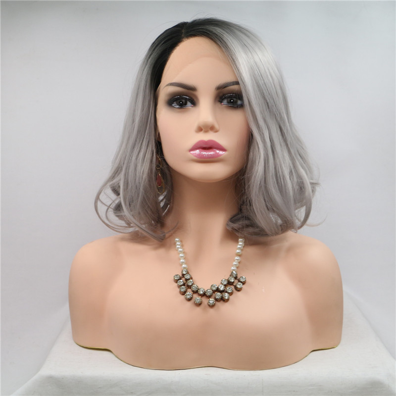 HD lace front wig 10