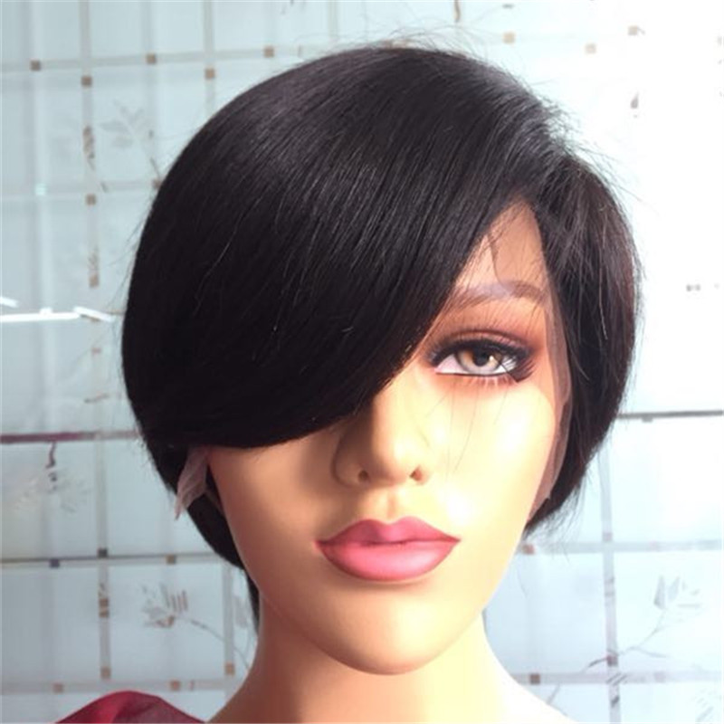 Bob Style Pixie Cut Wig Wholesale Virgin Hair Vendors in China WK148