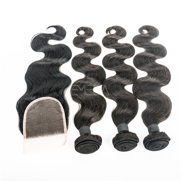 Cheap Brazilian hair bundles hair weft body wave human hair YL476