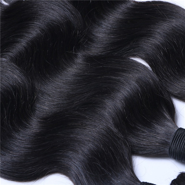 Malaysian Human Hair Weave Virgin Body Wave Hair Bundles Top Quality Weft  LM221