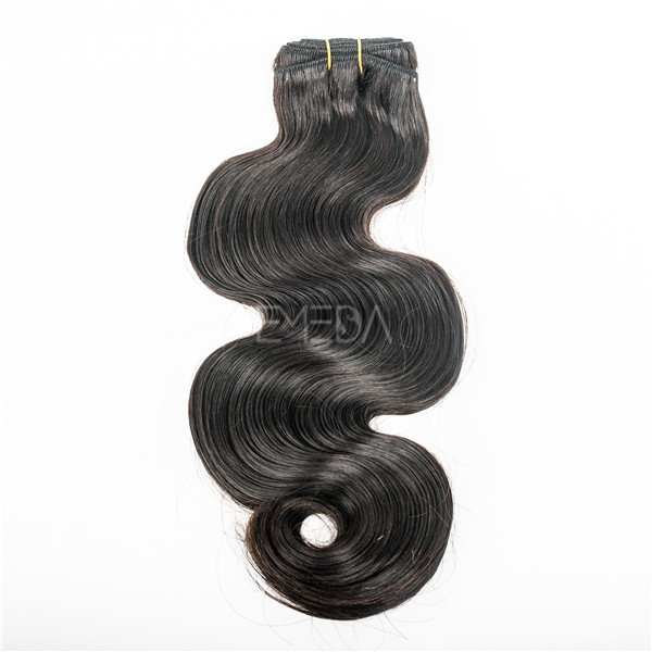 Double drawn body wave euro hair extensions YJ59