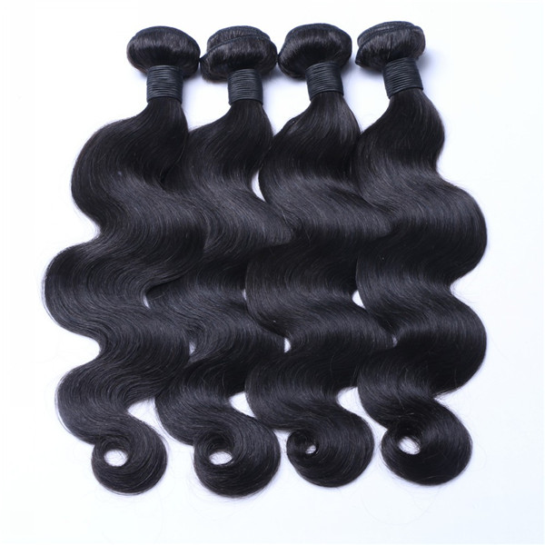 Grade 11A Best Quality Brazilian Virgin Human Hair Body Wave Weft Natural Hair Weave LM283