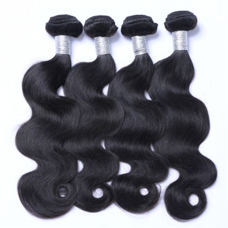 EMEDA factory price wholesale indian body wave hair weave suppliers QM030
