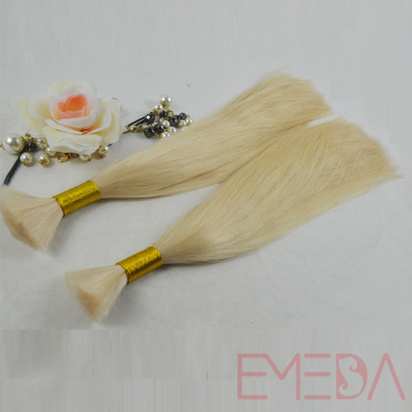 Bulk hair bundles brazilian bulk hair extensions without weft YL159
