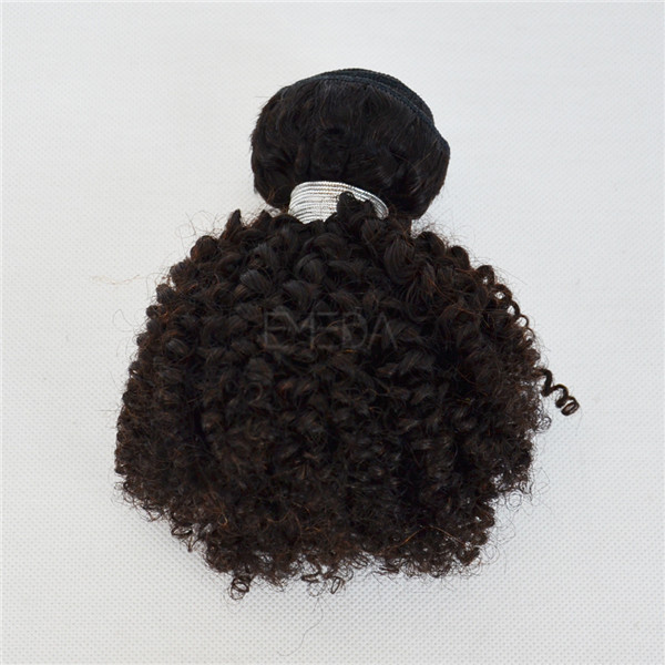 10 Inch Short Hair Kinky Curly Kids Hair Extensions Yj160 Emeda Hair