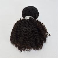 10 inch short hair kinky curly kids hair extensions YJ160