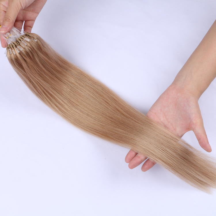 Best Russian human hair micro ring extensions factory manufacturers YJ323