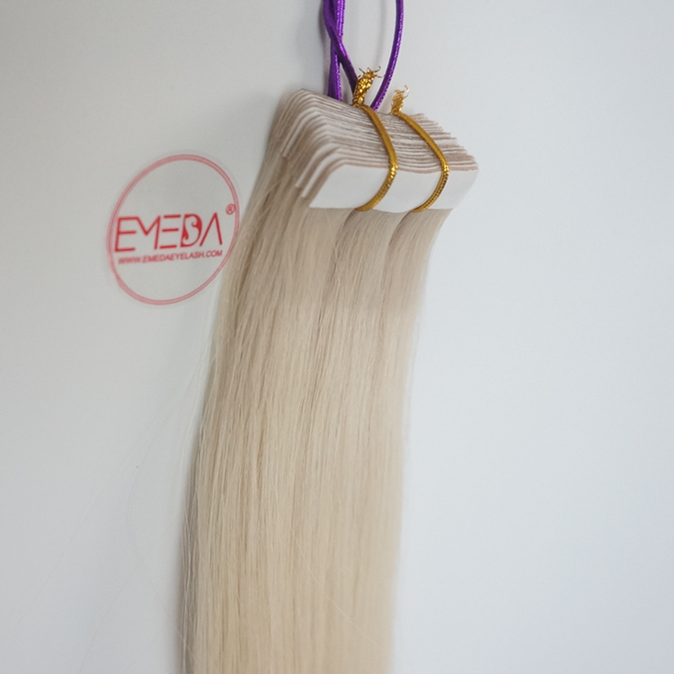 Cheap tape in weave hair tape extensions SJ00227