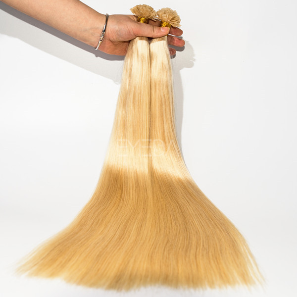 Flat tip cuticle hair extension wholesale lp