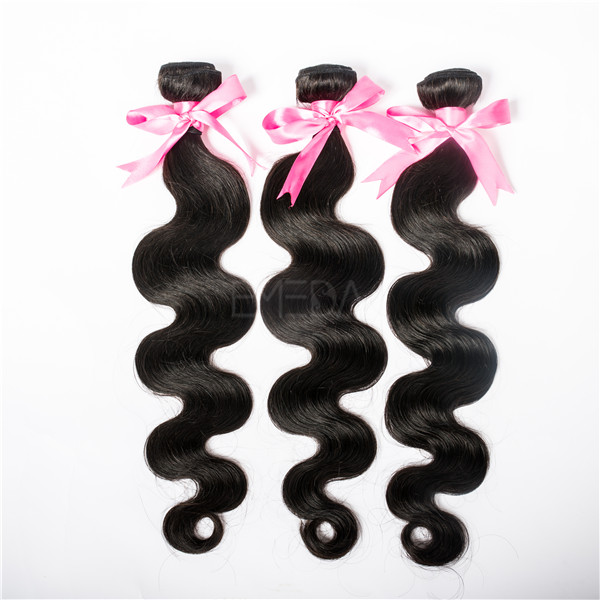 Malaysian hair body wave cheap hair extensions YJ44
