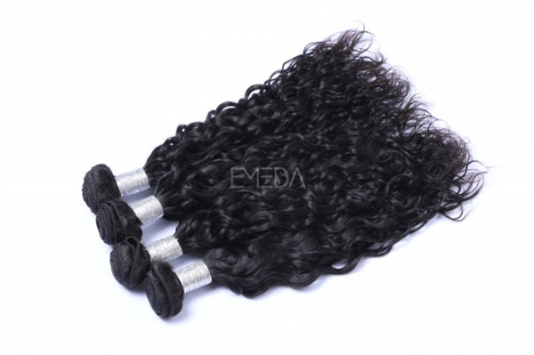 How to wash deep curly  remy hair extensions WJ011