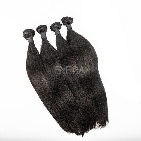 Raw Unprocessed Natural Color Cheapest Human Hair Extensions Yj192