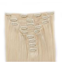 Halloween sale best real hair clip in extensions XS050