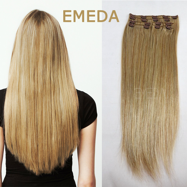 Canada Market Double Drawn Clipin Hair Extensions Yj73 Emeda Hair