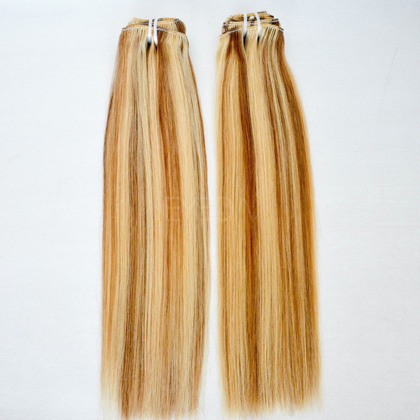 wholesale pure indian remy virgin human hair weft lp161