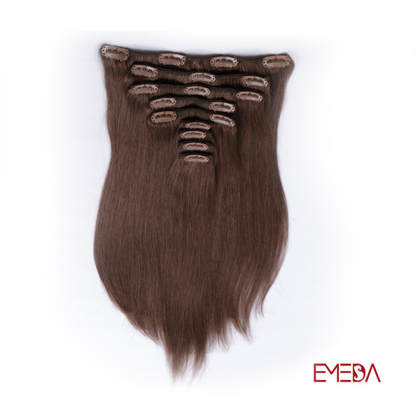 Best human hair clip in extensions XS037