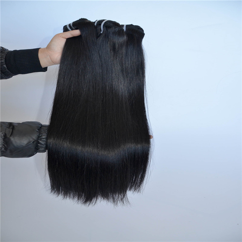 Clip In Hair Extensions Remy Human Accept Customized Hair Extensions WK092