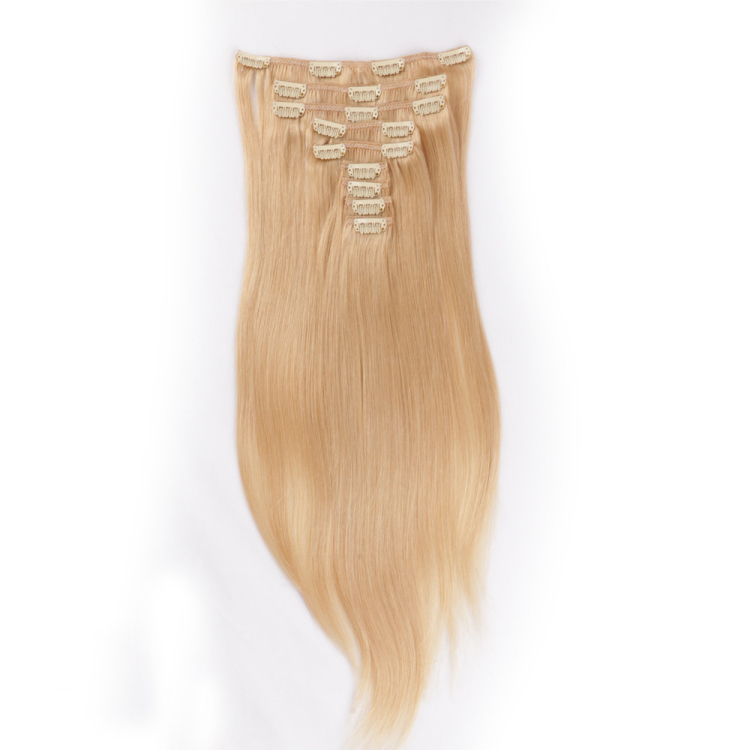 Good clip in human hair extensions near me SJ00224