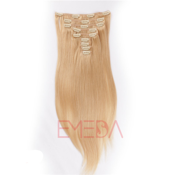 Clips In Hair Extensions For White People Top Quality Brazilian Hair