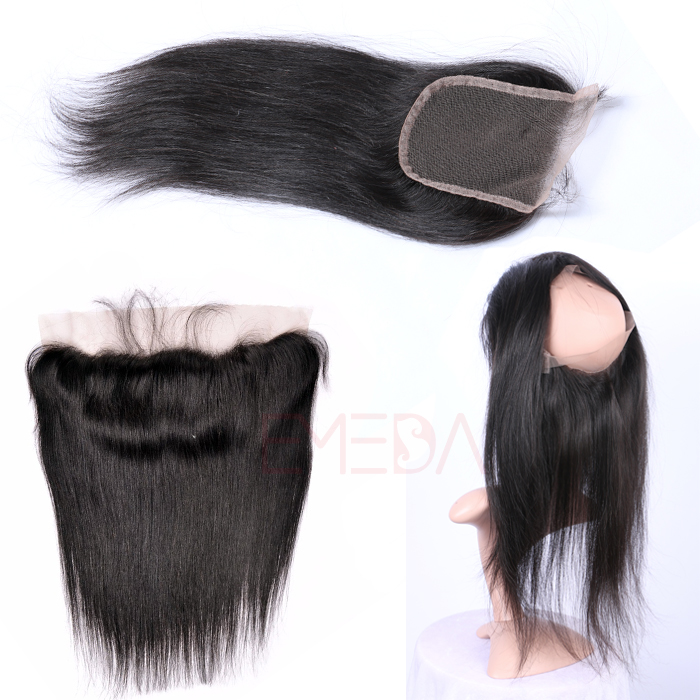 EMEDA Remy hair extensions natural hair pieces for women Straight hair HW062