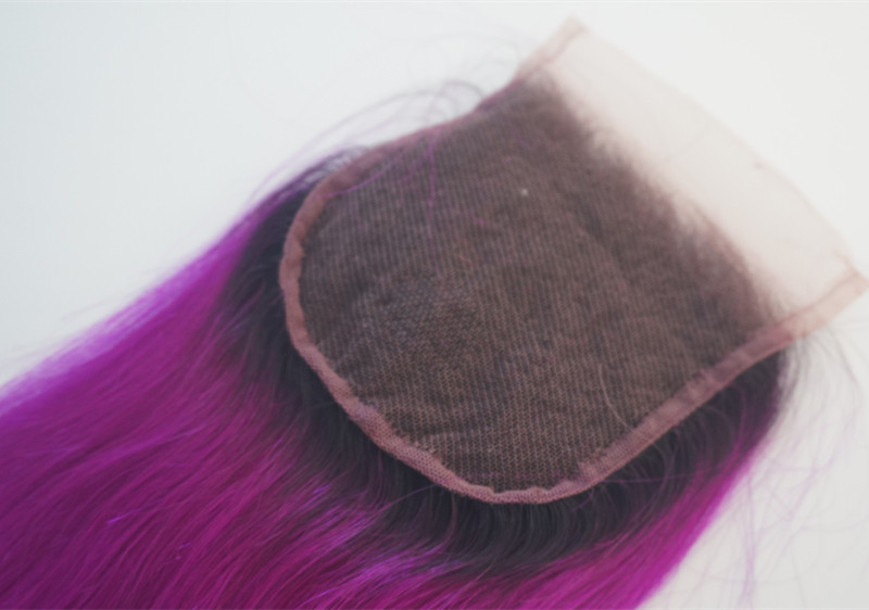Popular colored hair weft red bundles blue hair YL276
