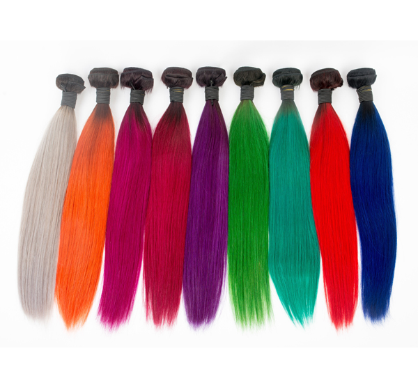 Brazil colorful human hair extension XS013