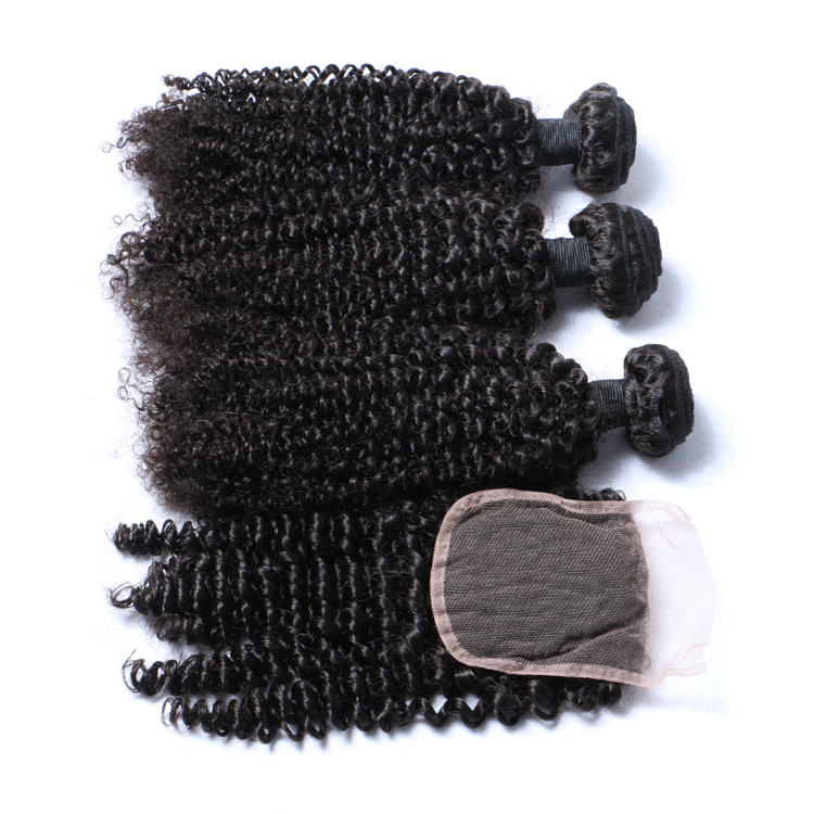 Peruvian Human Hair Bundles Deals Virgin Kinky Curly Cheap Hair Bundles With Closure LM370